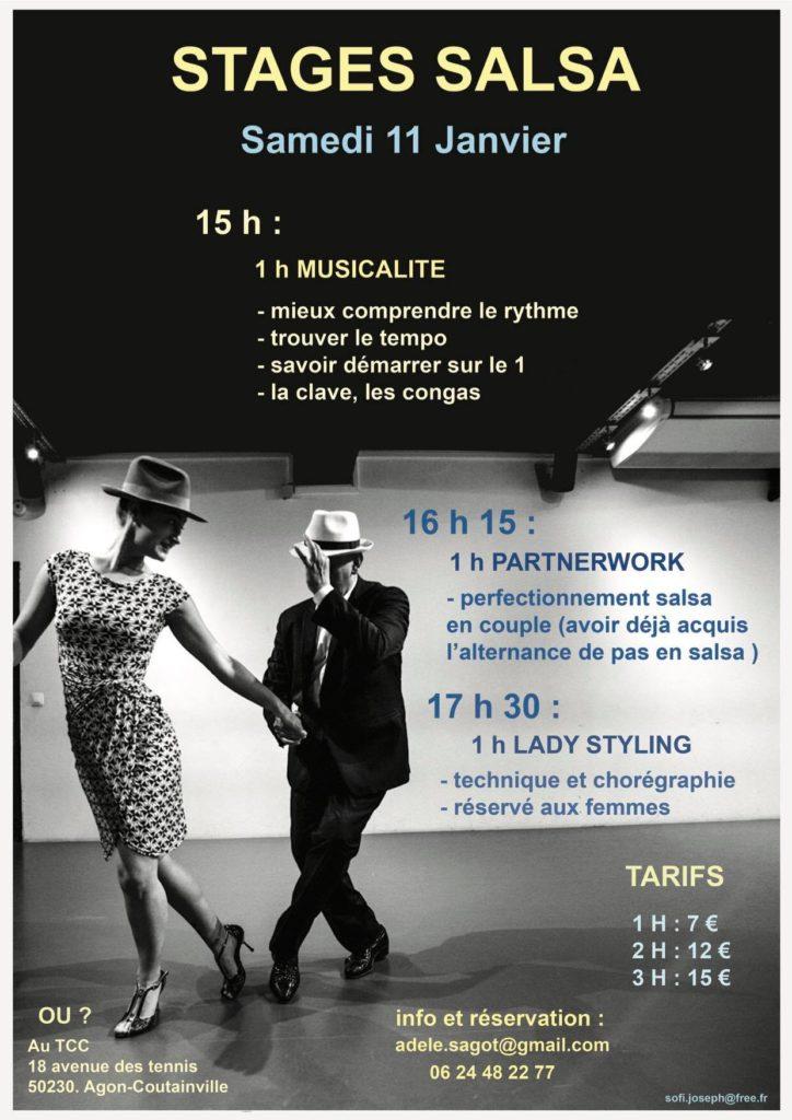 Stage de Salsa Portoricaine Normandie