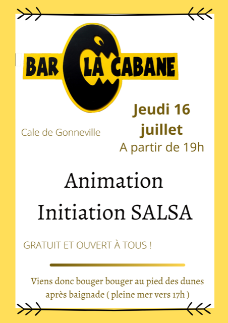 initiation salsa cale de gonneville